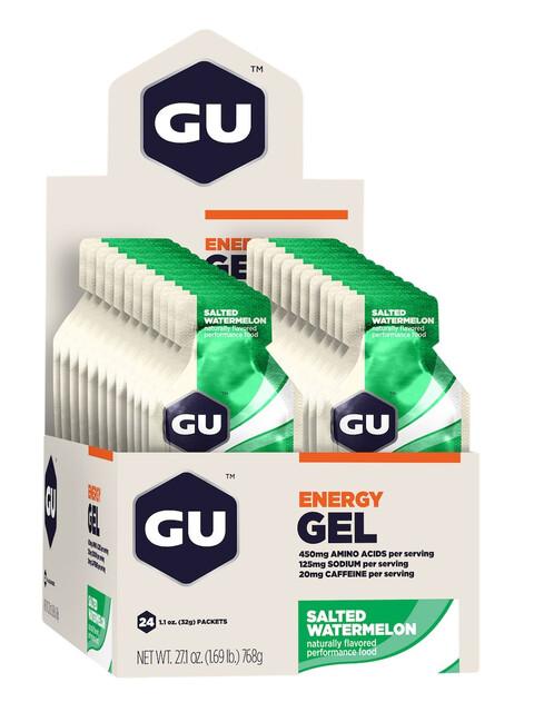 GU Energy Gel - Nutrición deportiva - Salted Watermelon 24 x 32g